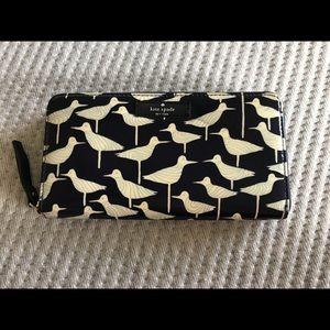 Kate Spade Vinyl Seagull Wallet